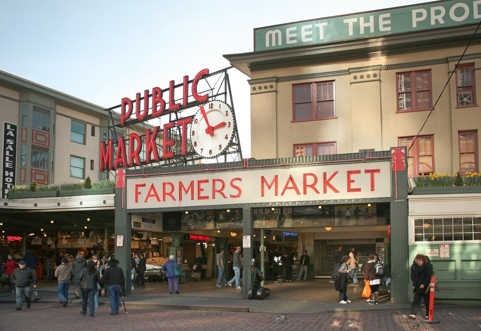 Pike Place Market Seattle Next time I