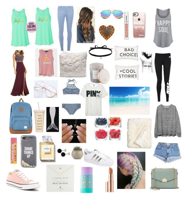 """""""My style march 2017"""" by freyjafifi on Polyvore featuring Levi's, Converse, Mac Duggal, Dorothy Perkins, NIKE, South Parade, Yves Saint Laurent, Kate Spade, Casetify and Burt's Bees"""