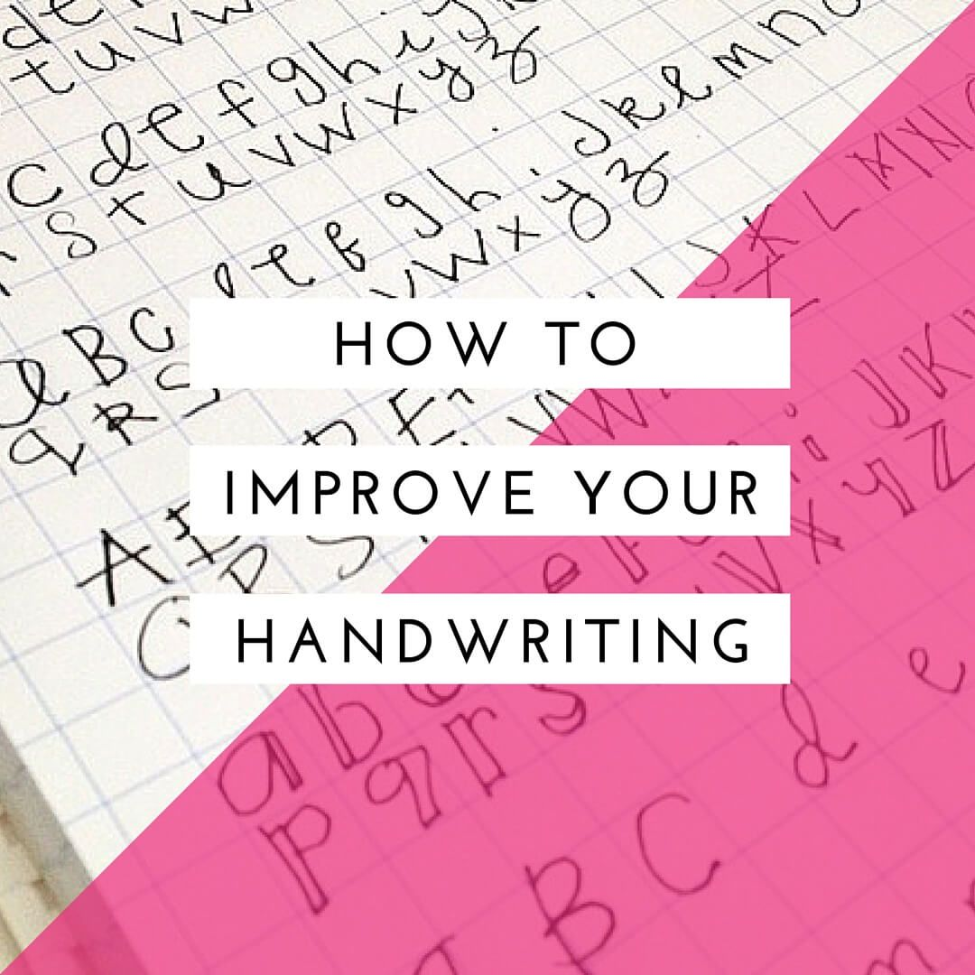 How To Easily Improve Your Handwriting As An Adult