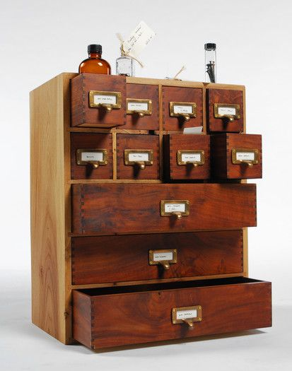I would SO love some Apothecary Drawers