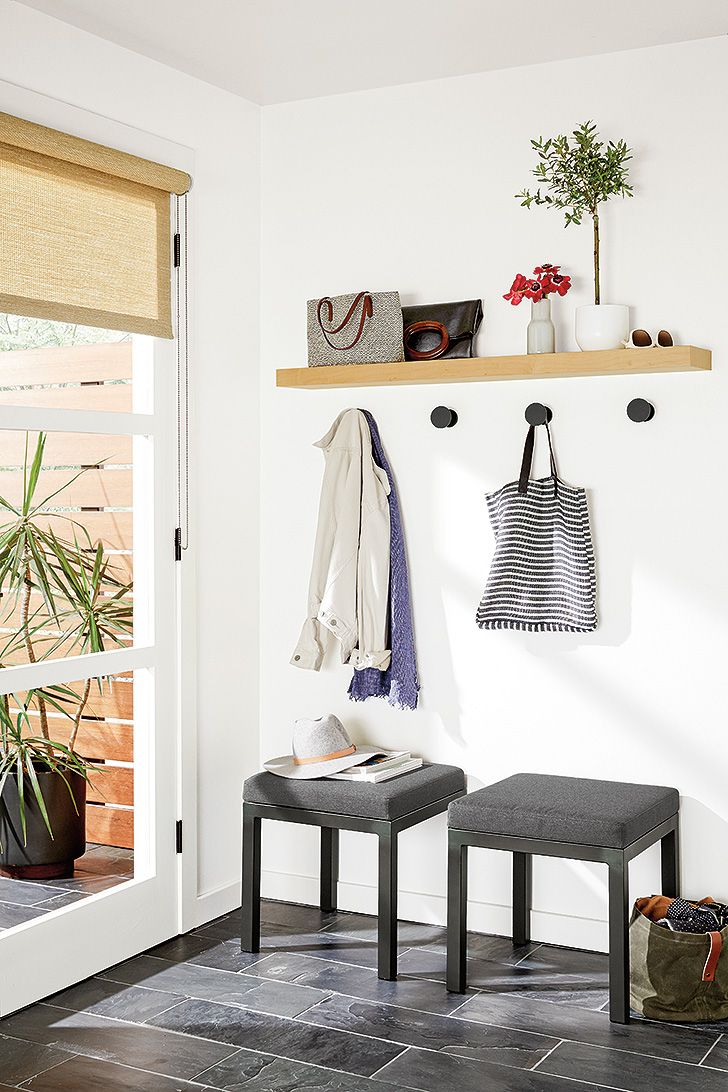 Shelves White Walls And Entry Ways: Wall Hooks Add Organization And Style To Any Space