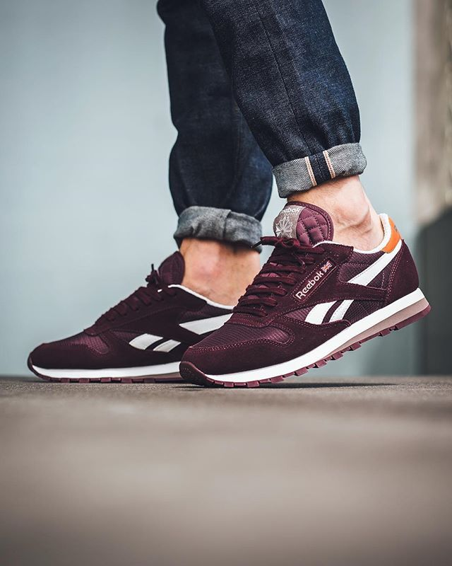 buy popular fe15d 1c9fb Reebok Classic Leather Camp - Mystic Maroon Maroon available now…