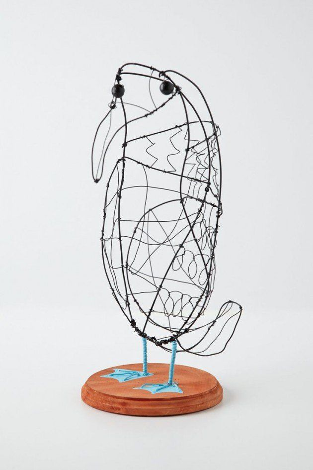 33 Amazing Diy Wire Art Ideas | Wire art, Metal projects and Crafts