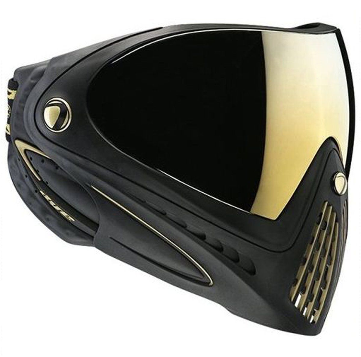Amazon.com : Dye I4 Special Edition Paintball Mask - Black/Gold ...