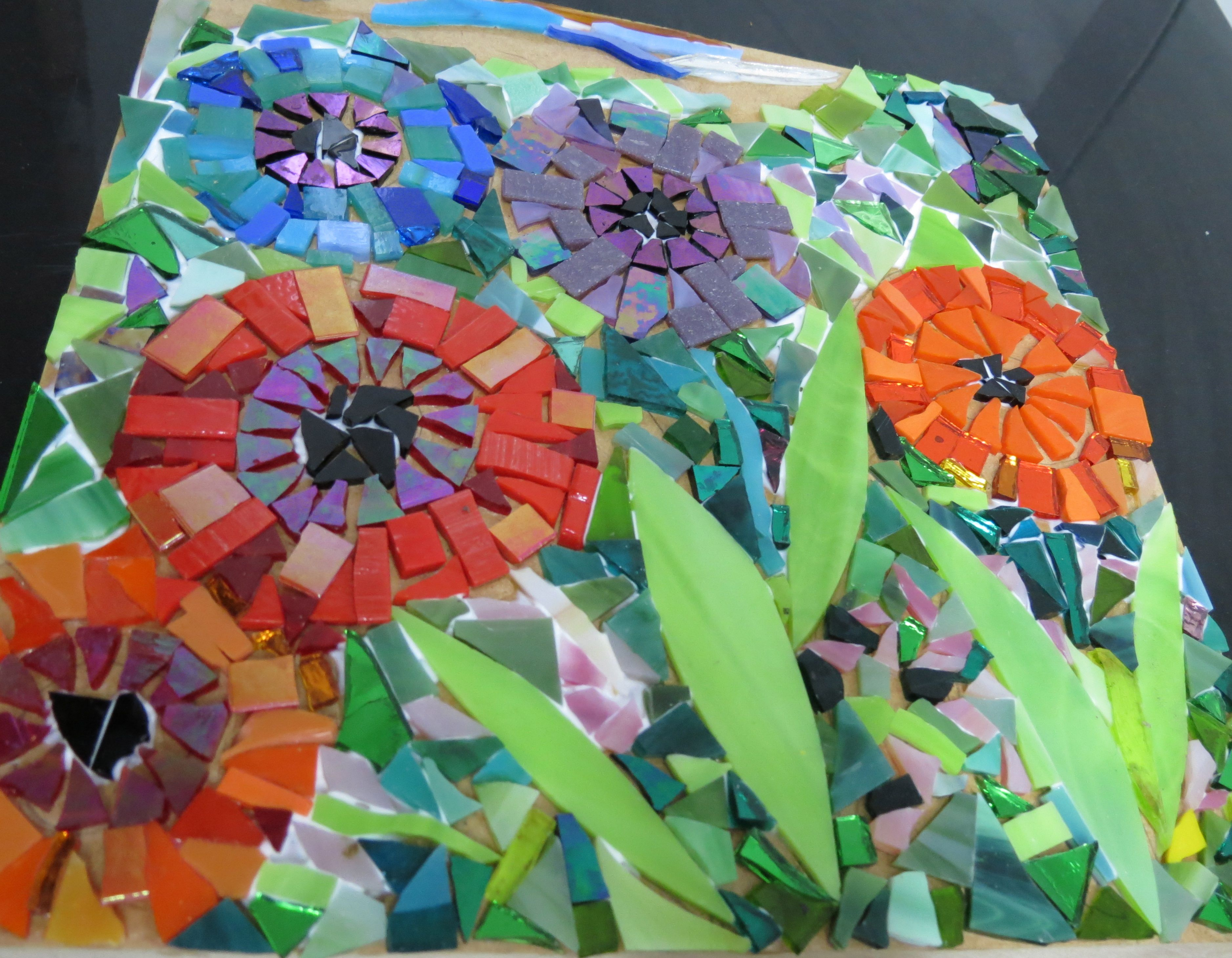 Pin by clauvrarei on mosaic work in progress by kat gottke ...