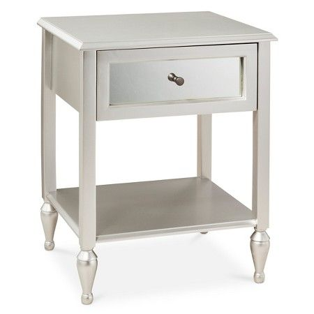 Hollywood Mirrored Side Table Target