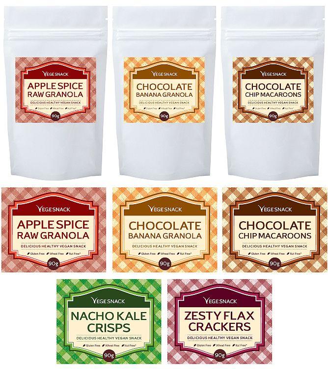 Snack Pack Label Template HttpWwwDlayoutsComTemplate