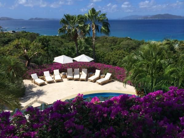 Book the master suite at Valley Trunk Estate and you'll have the one of the best views of the Caribbean.