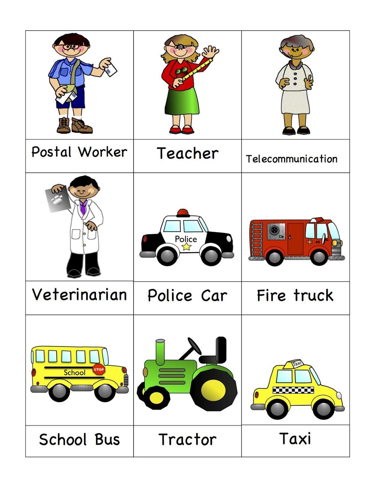 Community Helpers Kindergarten Worksheets In