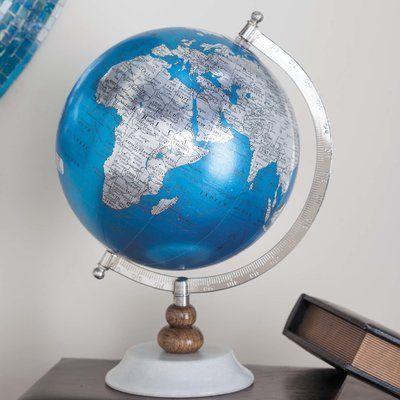 Cole Grey Globe Globe Desk Globe Accent Decor
