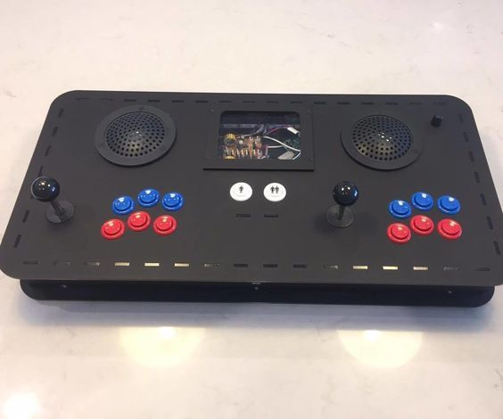 Portable 2 Player Arcade Console With RPi and Teensy   Arcade DIY