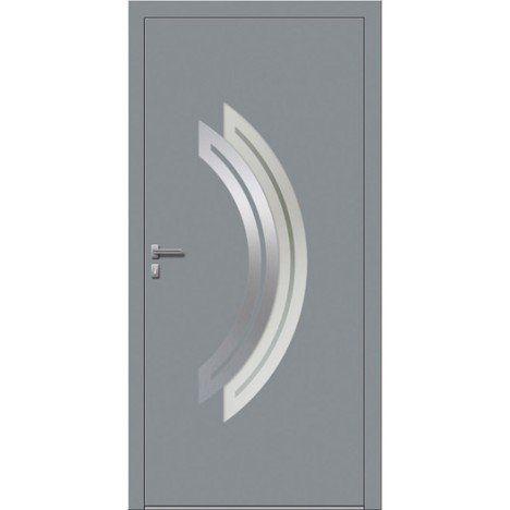Porte D Entree Sur Mesure En Aluminium Maeva Excellence Entree Portes Mesure