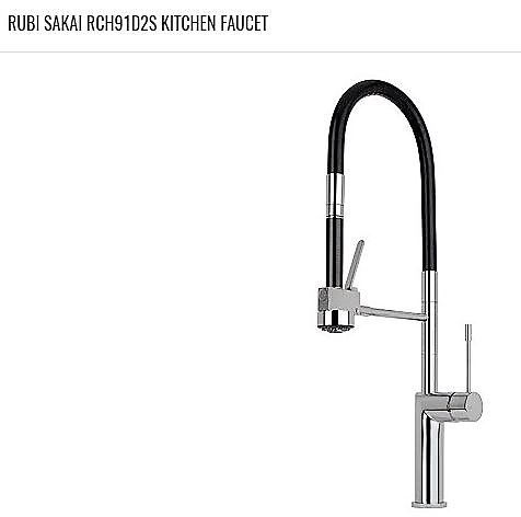 RUBI SAKAI (RCH91D2S) Kitchen Faucet. Available in Chrome and ...