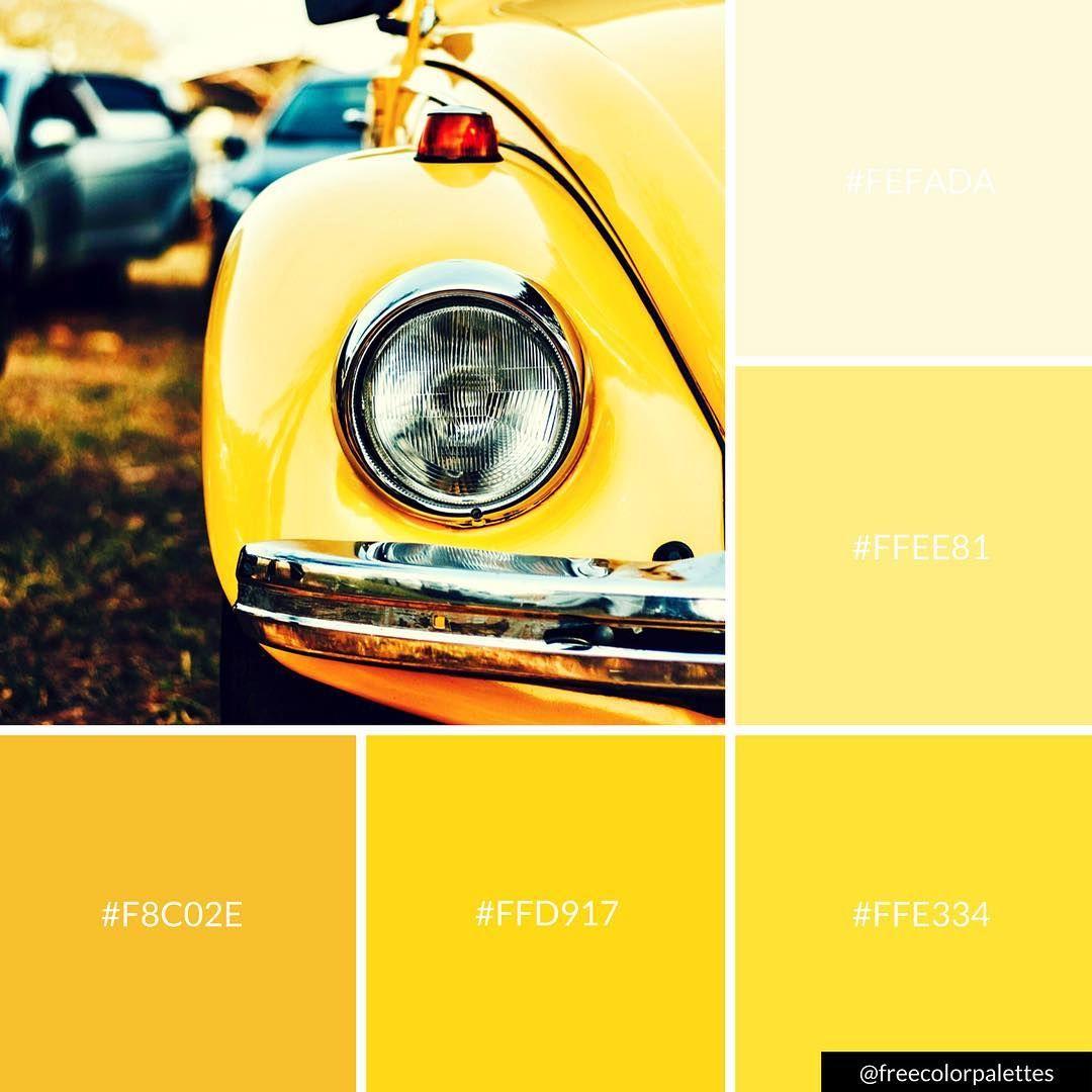 Yellow Vintage Color Palette Inspiration Digital Art Palette And Brand Color Palette Color Palette Yellow Vintage Colour Palette Shades Of Yellow Color