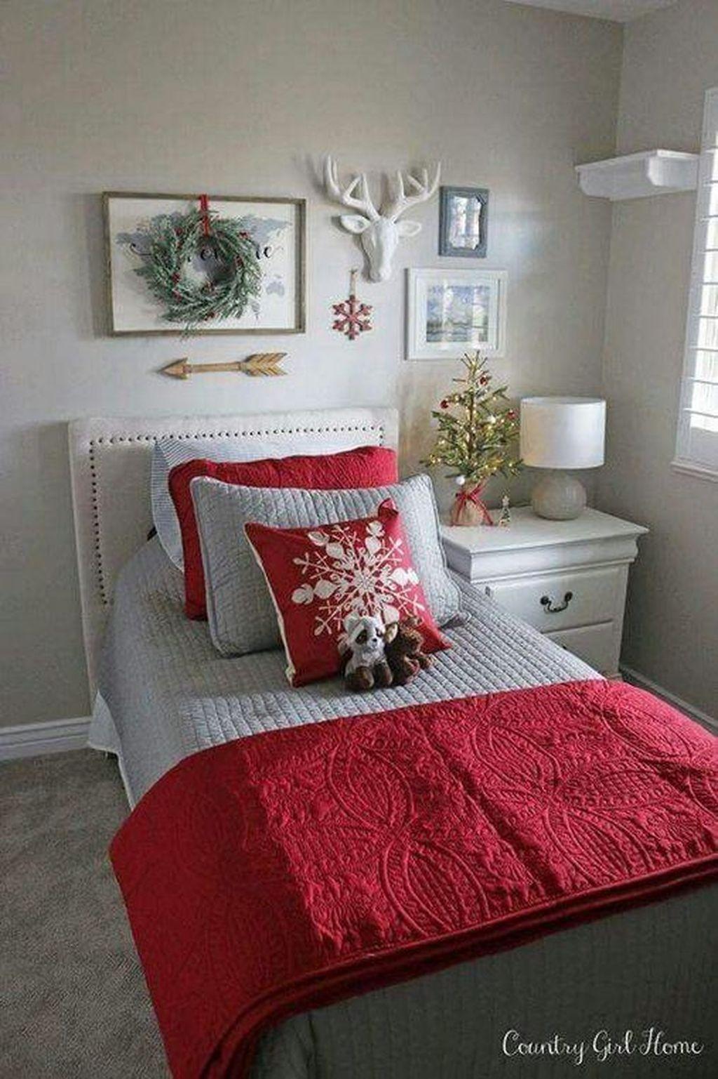 47 Lovely Diy Christmas Decoration Abchomy Christmas Decorations Bedroom Christmas Room Decor Christmas Bedroom