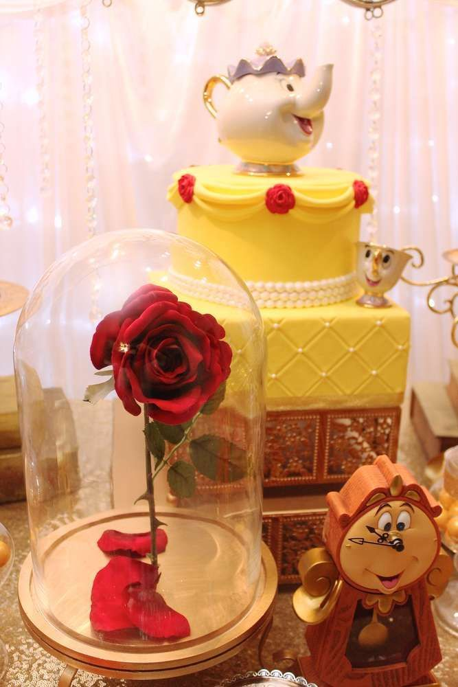 Belle Birthday Party Decorations Belle  Beauty And The Beast Birthday Party Ideas  Beast