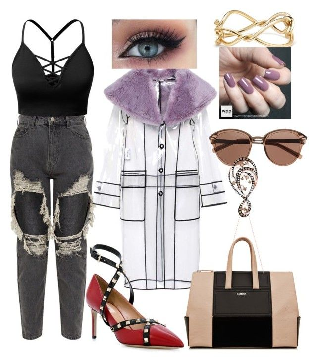 """Untitled #420"" by denis-bogdan-siminiuc on Polyvore featuring J.TOMSON, Miu Miu, Valentino, La Perla, Witchery, David Yurman, Zoya and Effy Jewelry"