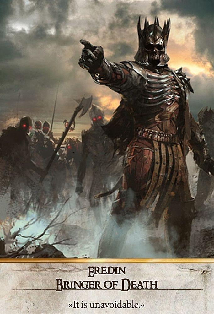 Eredin bringer of death gwent card the witcher 3 wild - Ciri gwent card witcher 3 ...