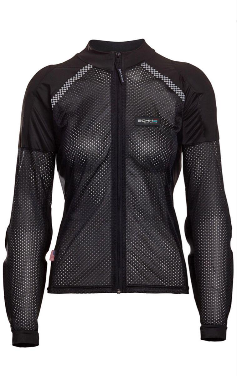 AllSeason Airtex Armored Riding Shirt Black in 2020