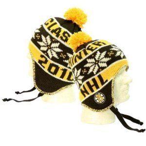 Boston Bruins NHL Reebok Ball Top Winter Classic Knit Beanie Hat by NHL.   14.99. Boston Bruins NHL Ball Top Winter Classic Knit Beanie Hat by REEBOK. 5162f1d8a6d