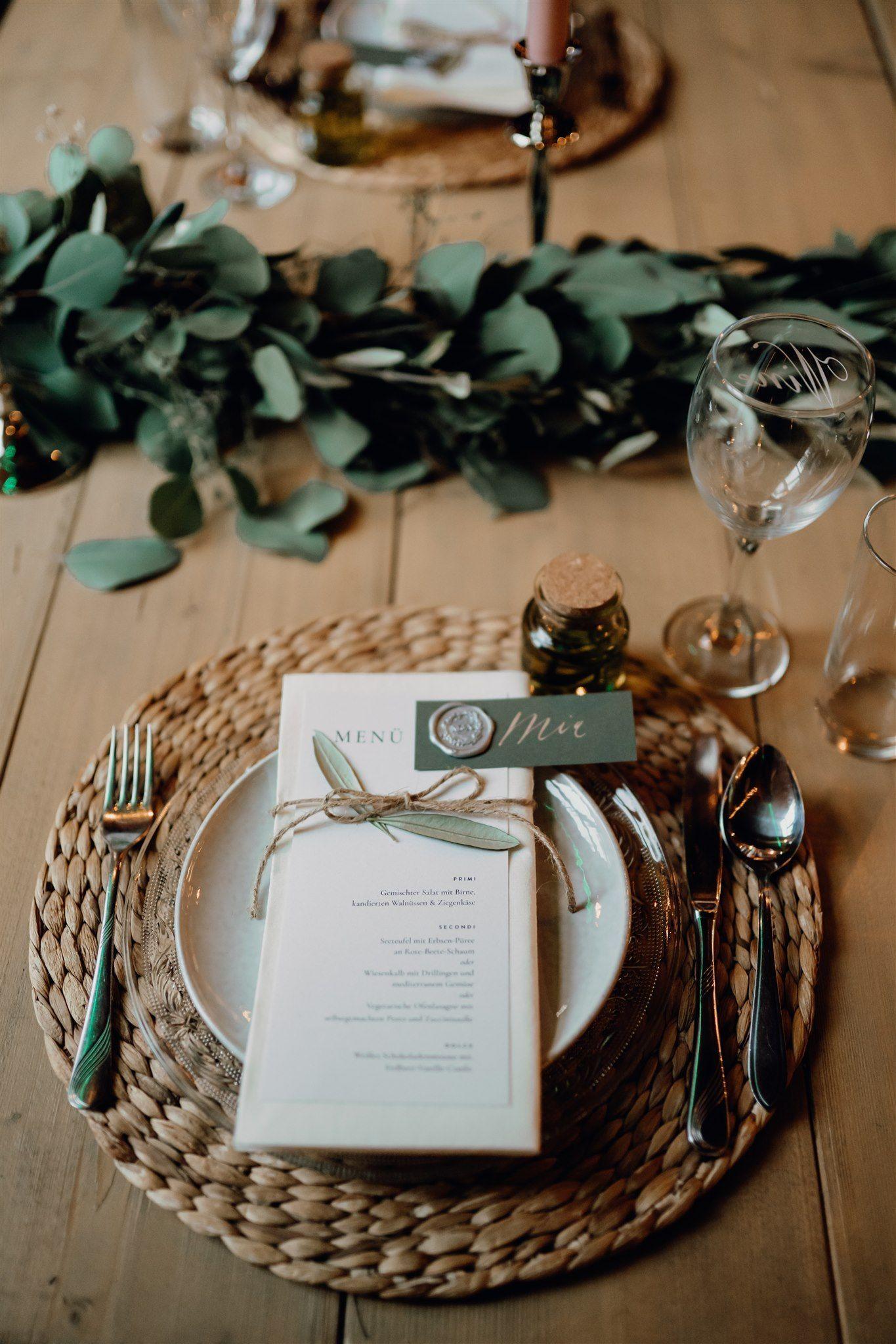 Eine Inspiration für Bohohochzeiten wie in der Toskana