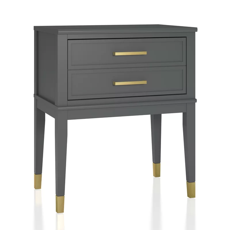 Westerleigh 1 Drawer Nightstand In 2020 End Tables Nightstand Drawers