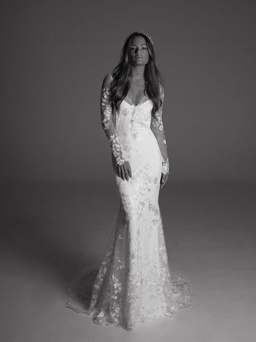 Long sleeve black wedding dresses  Best  Black And White Long Sleeve Wedding Dresses  Wedding dress