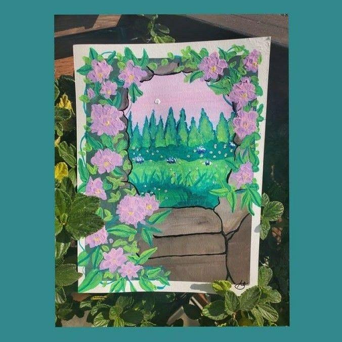 #artoftheday #goauchepainting #gouacheart #youtubeartist #youtubechannel #youtube #youtubecreator #painting🎨 #paintingoftheday #artist #artistsoninstagram #alexandriagarnettart #blackartists #artvideos #california #humboltstateuniversity #humboltcounty #northerncalifornia #arcatacalifornia