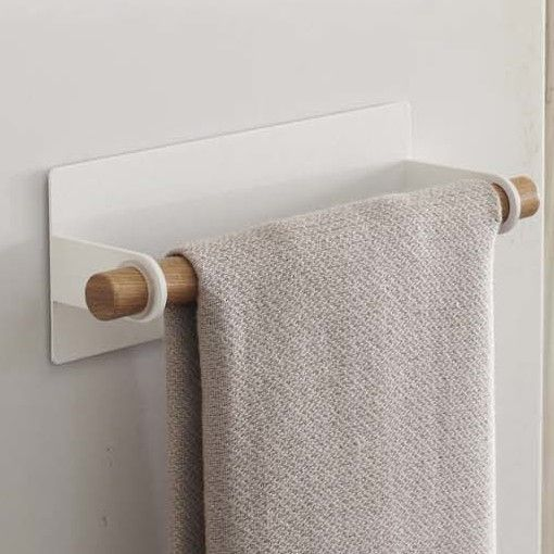 Tosca Magnetic Dish Wall Mounted Towel Bar
