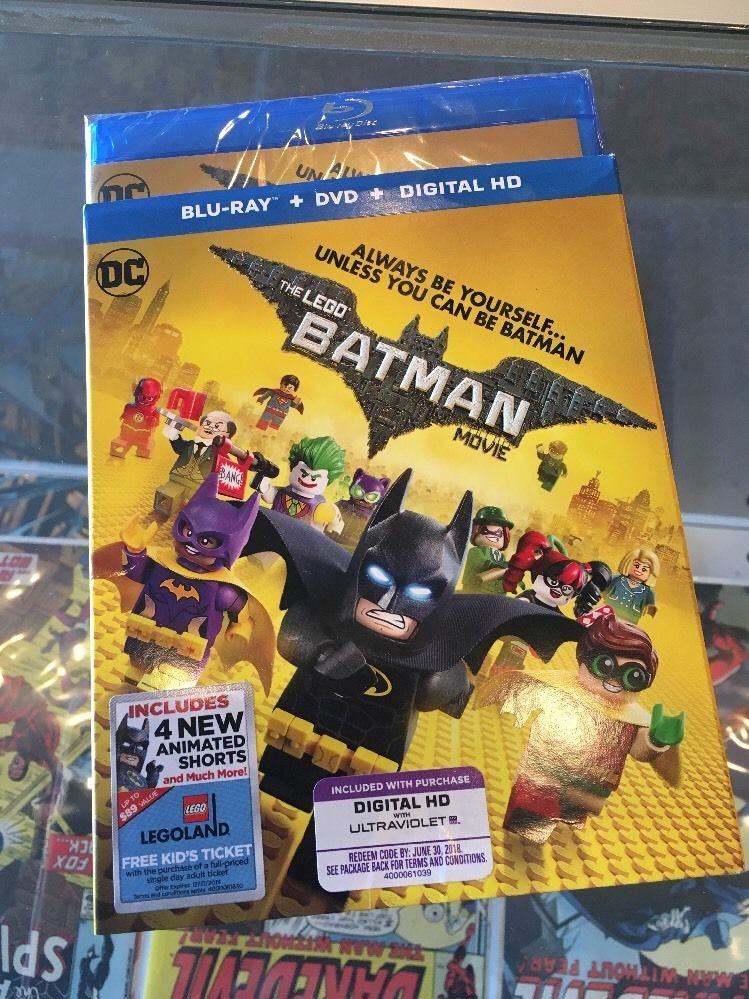 The Lego Batman Movie (NEW Blu-ray DVD Digital HD 2017) w/ SLIPCOVER ...