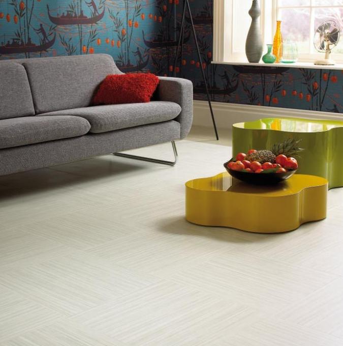 abstract linear chalk flooring