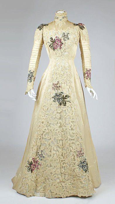 Dress, ca 1900 NYC, the Met Museum