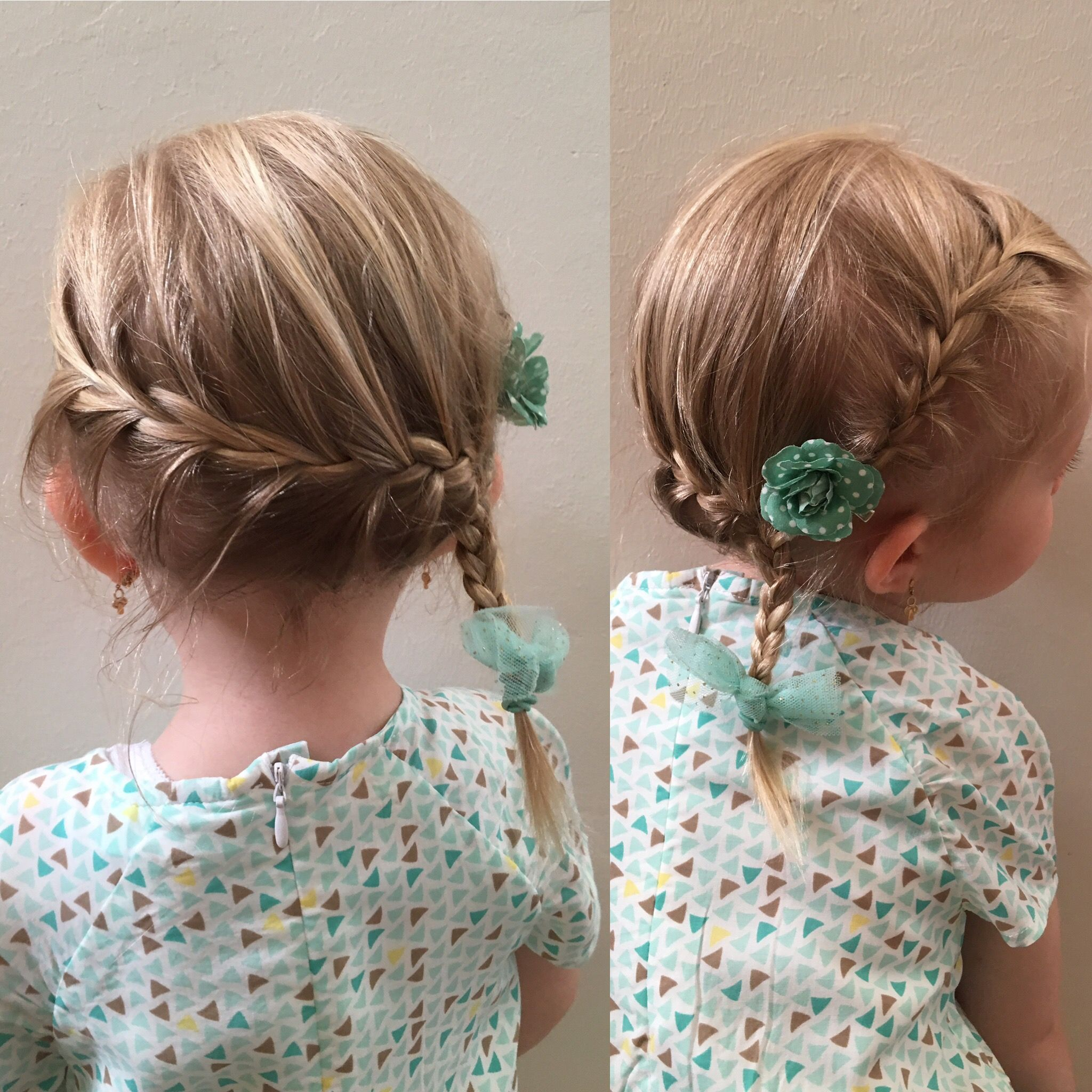 Braid Like Elsa From Frozen For Little Girls With Fine Hair Toddler Hairstyles Girl Fine Hair Elsa Hair Kids Braided Hairstyles