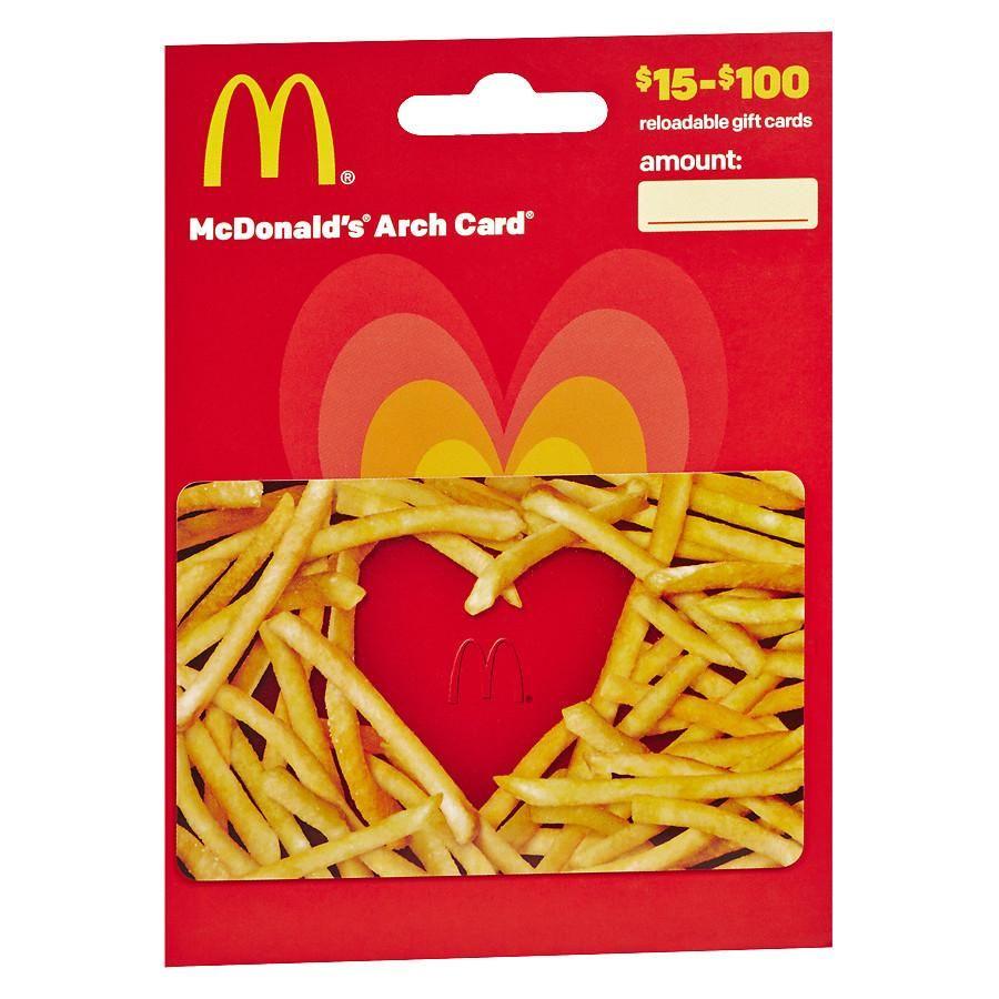Mcdonalds gift card mcdonalds gift card subway gift