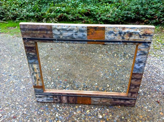 "36"" x 30"" Recycled Mirror on Etsy, $350.00 - LOVE"