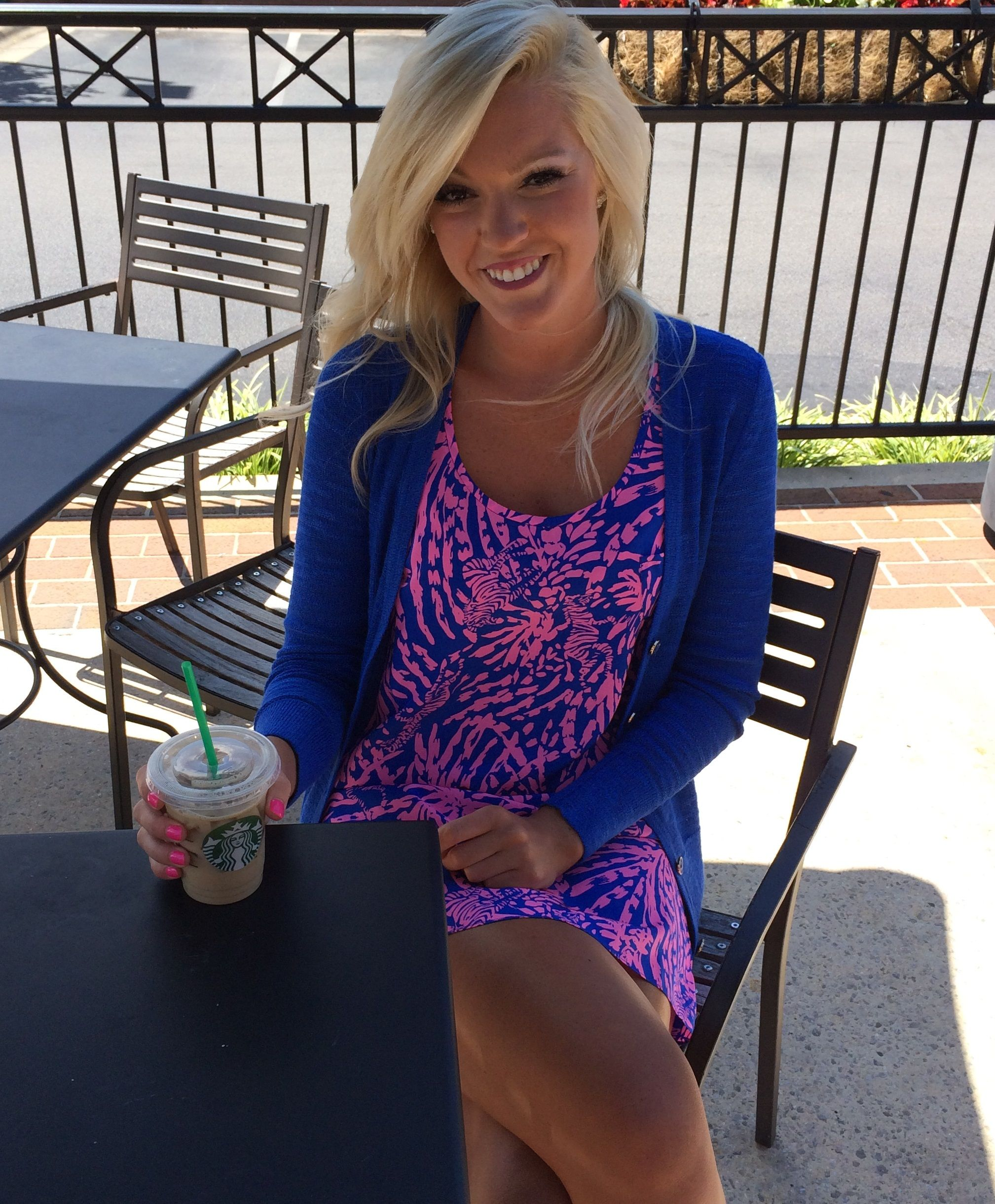 Starbucks And Lilly Pulitzer Fall Bettydress Preppy