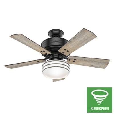 Cedar Key Outdoor With Led Light 44 Inch Ceiling Fan Led Lights Outdoor Ceiling Fans 44 inch outdoor ceiling fan