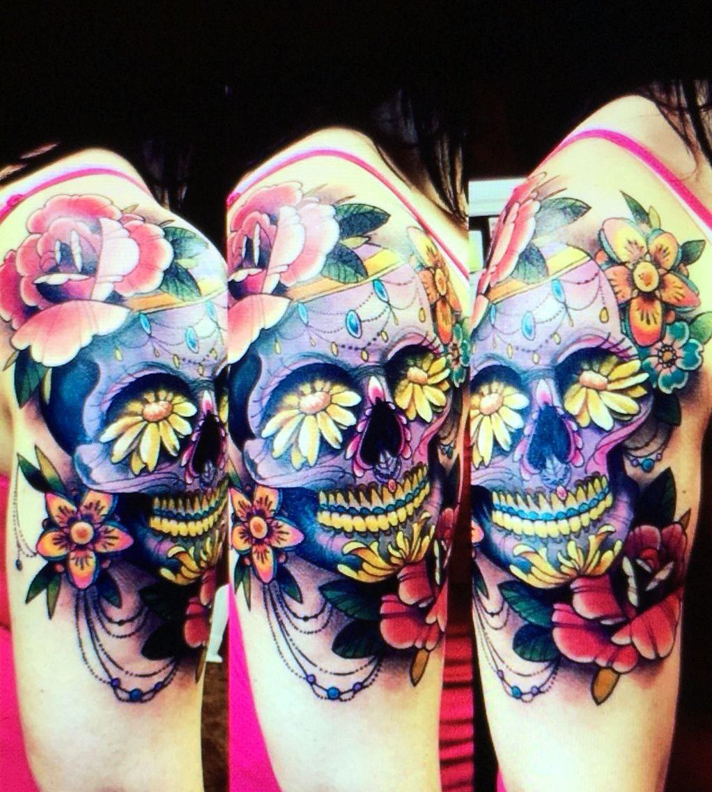 Brooke Hume Tattoo: The Start Of My Full Sleeve! Amazing Job By Brooke Hume