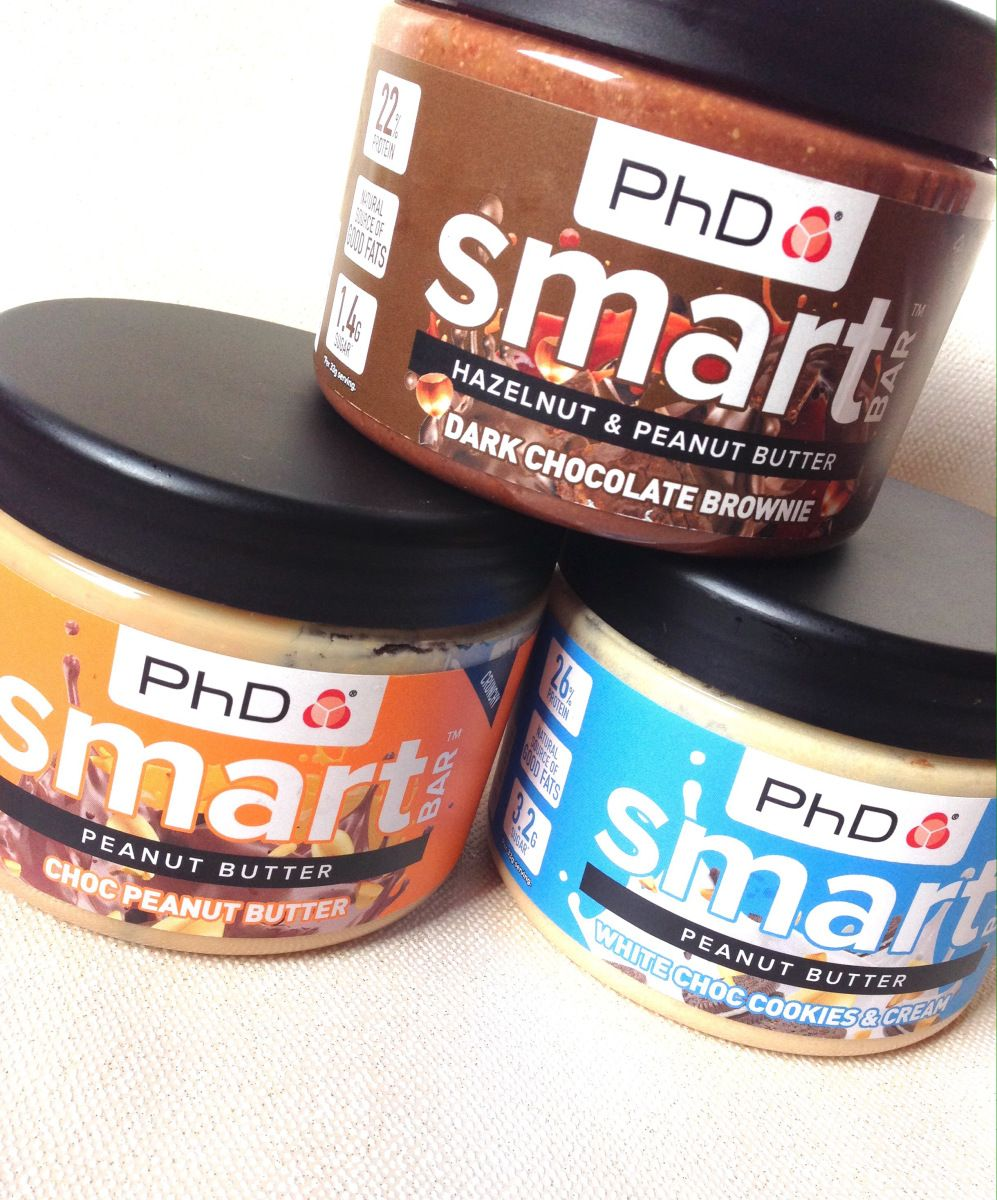 Review Phd Smart Bar Nut Butters Healthy Strawberry Nut Butters Butter Healthy