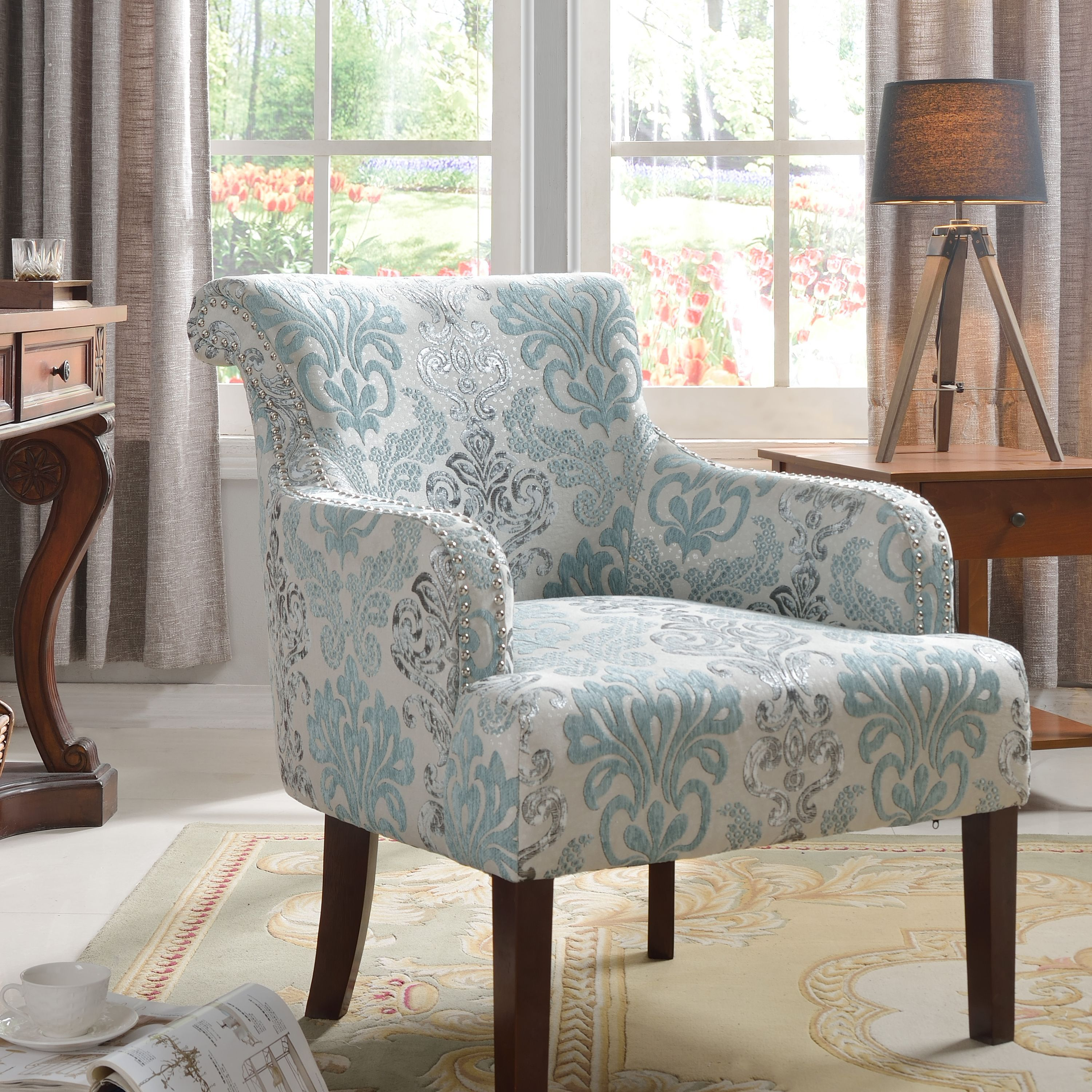 best master furniture's regency living room accent chair