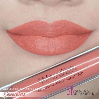 Review Wardah Exclusive Matte Lip Cream 05 Speechlesskualitas