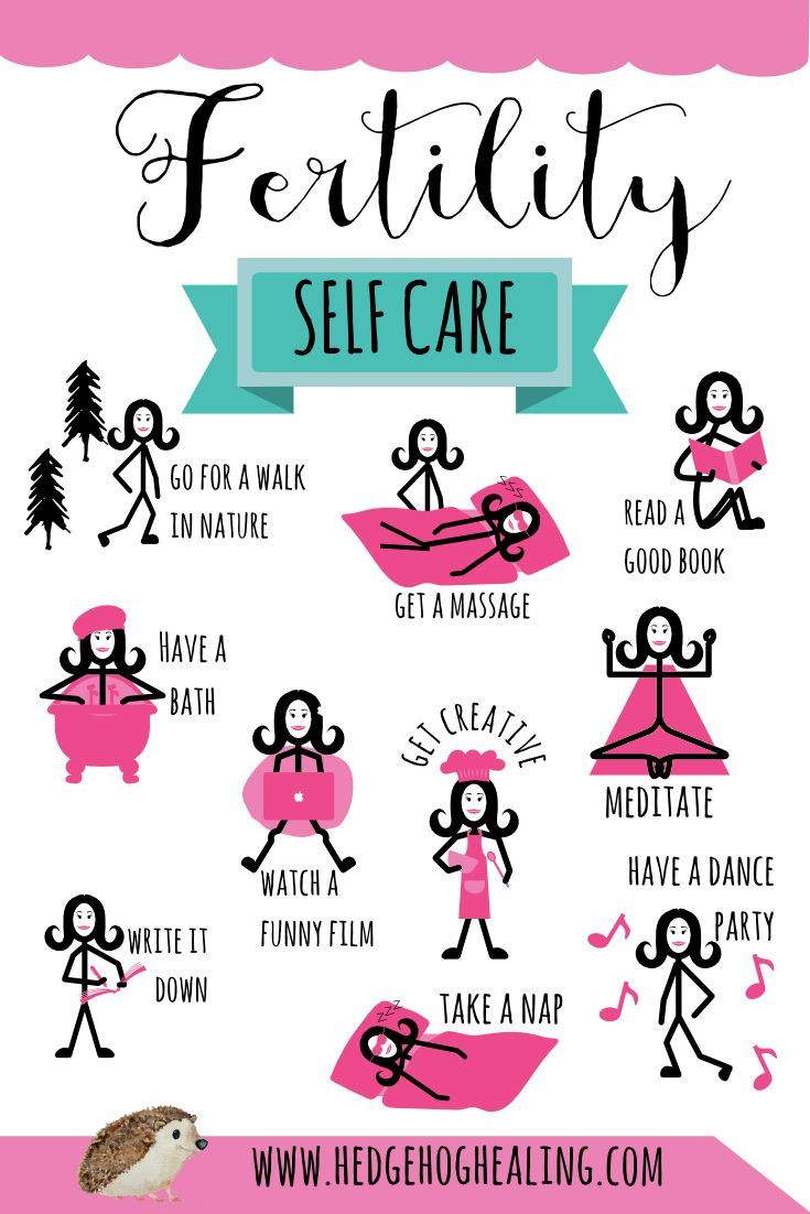 Self-care tips for women struggling with infertility ...
