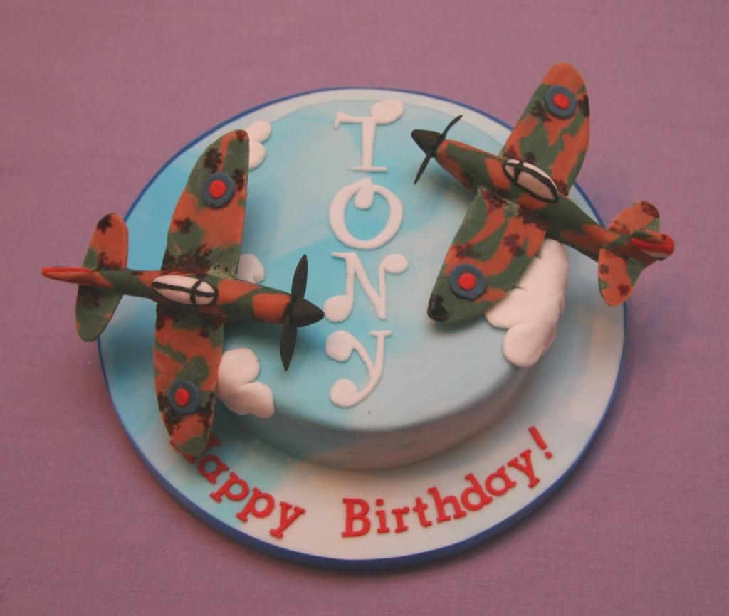 Military Airplane Cake Decorating Ideas
