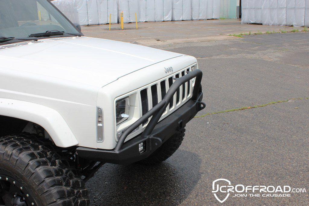 Jcroffroad Defender Prerunner Front Bumper Jeep Cherokee Xj 84