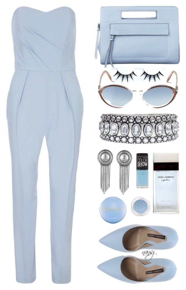 """""""Galentine's day"""" by nans-g ❤ liked on Polyvore featuring Dorothy Perkins, Norma J.Baker, Sam Edelman, Towne & Reese, Dolce&Gabbana, Maybelline, Yves Saint Laurent, Givenchy, women's clothing and women"""
