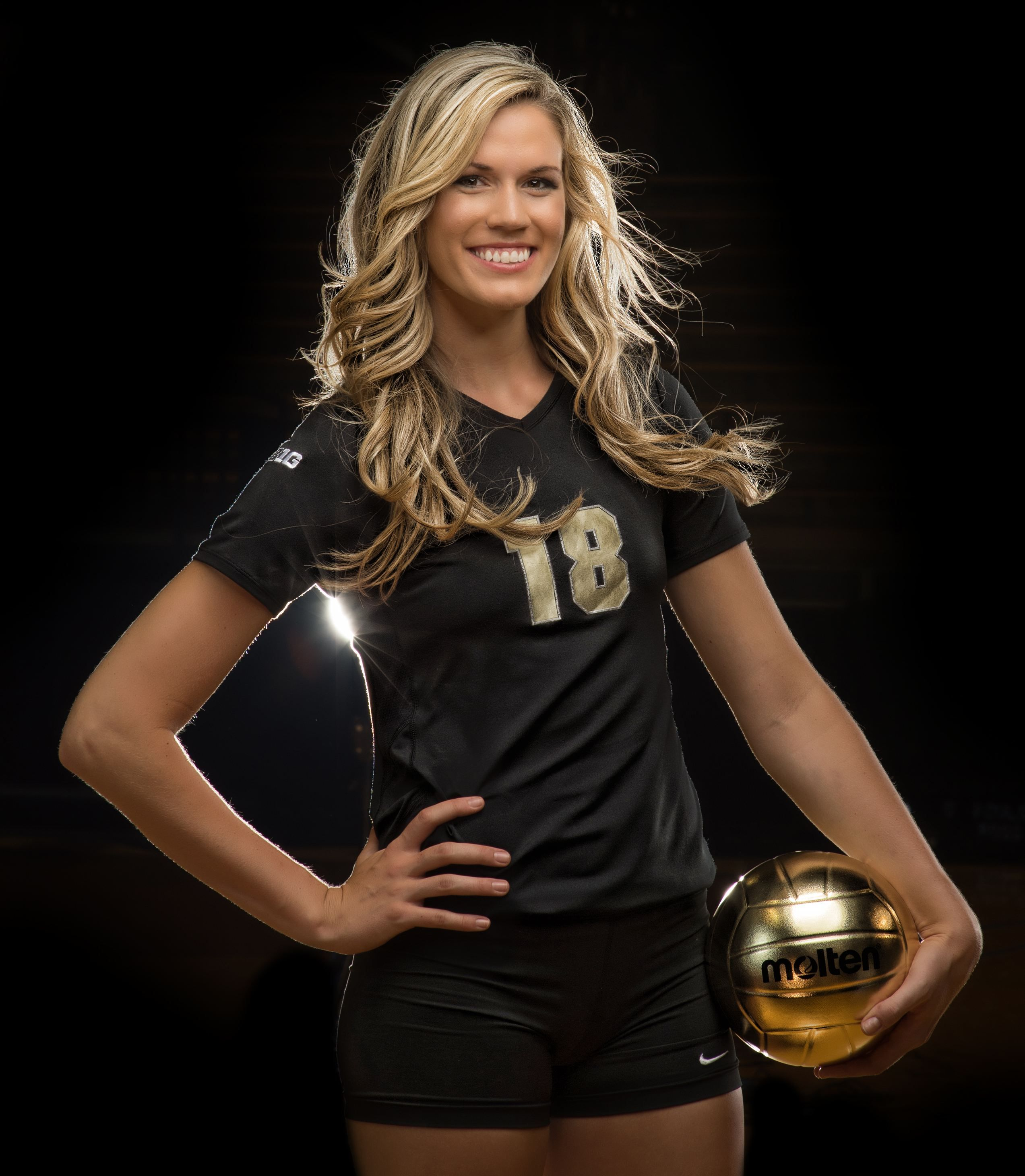 volleyball photo shoot behind the scenes by purdue