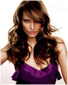 Love long hair.  It looks so easy to style.