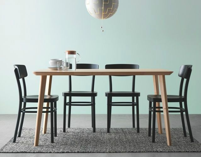 the 25 best ikea dining table set ideas on pinterest ikea dining room sets ikea dining sets. Black Bedroom Furniture Sets. Home Design Ideas