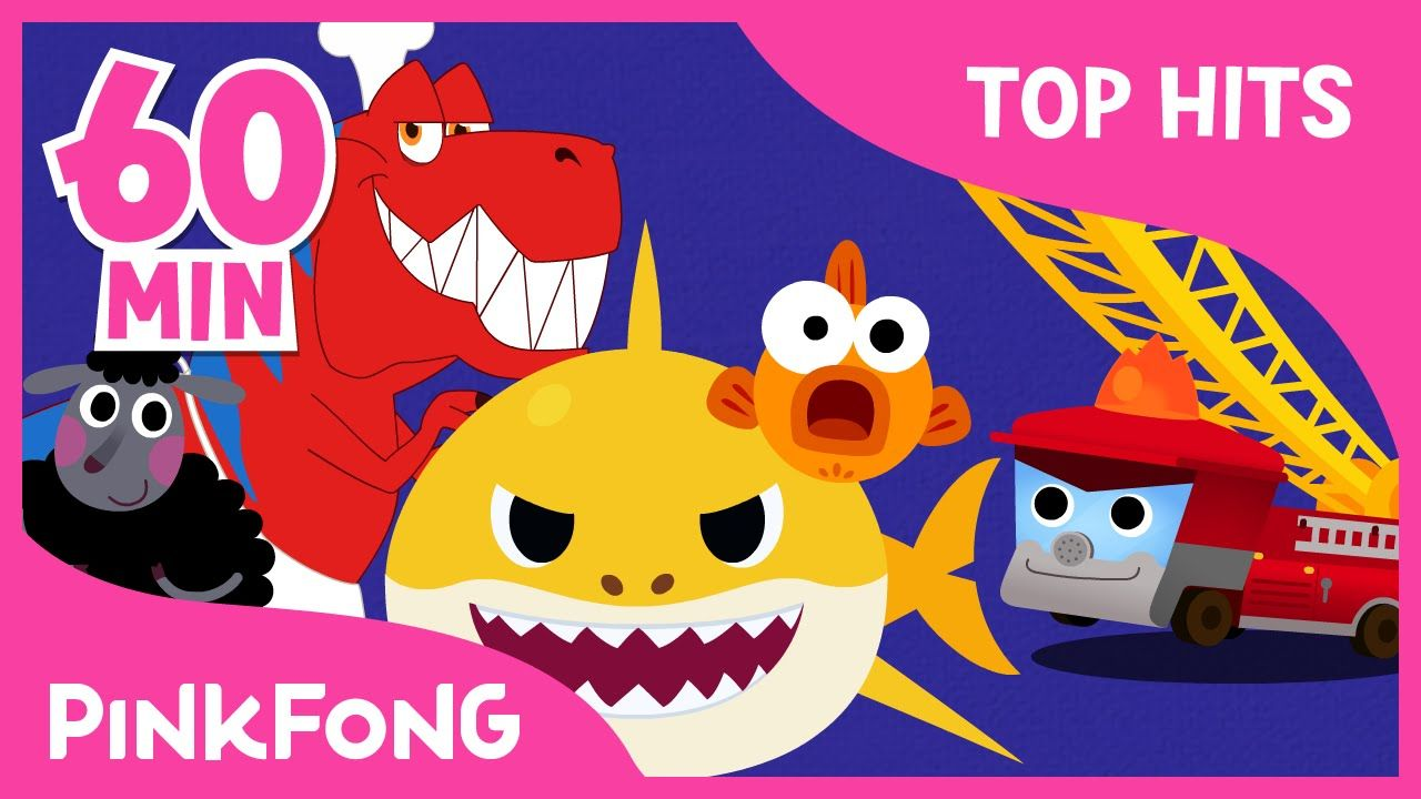 baby shark and 50 songs compilation pinkfong songs for children youtube