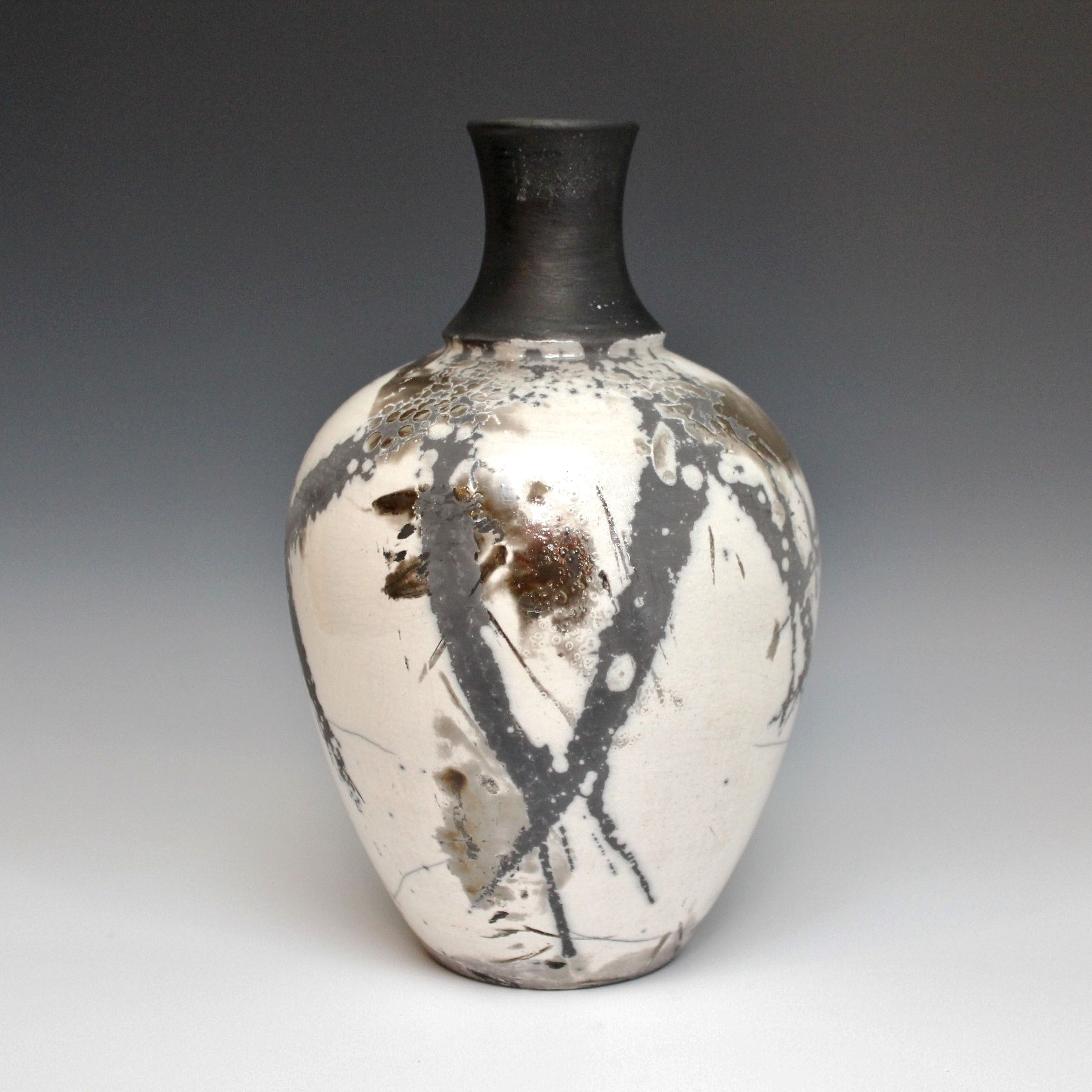 Raku Vase by Anthony Rollins http://stores.ebay.com/Anthonys-Antiques-and-Collectibles